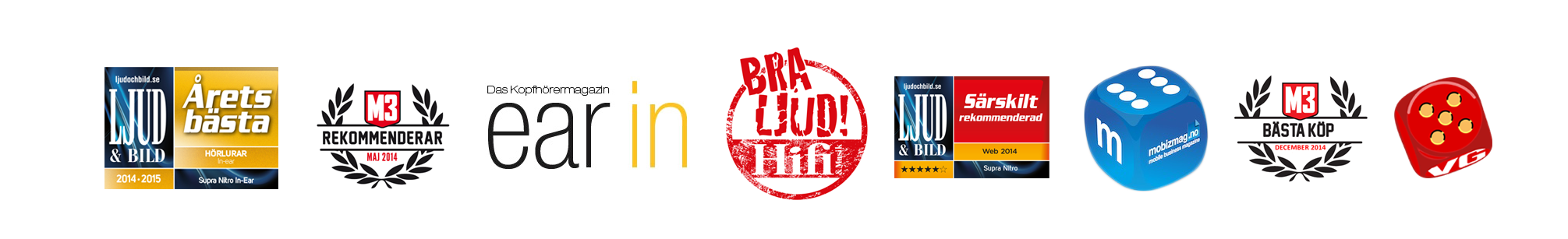 SUPRA NiTRO Awards