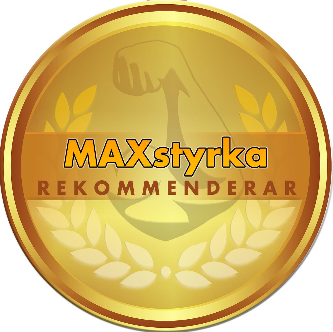 MAXstyrka recommed