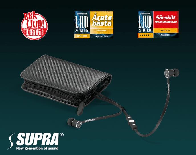 Nu kommer den nya generationens hörlurar från svenska varumärket SUPRA. 9f5d48aced2b2
