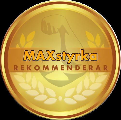 NiTRO-X2 maxstyrka rekommenderar