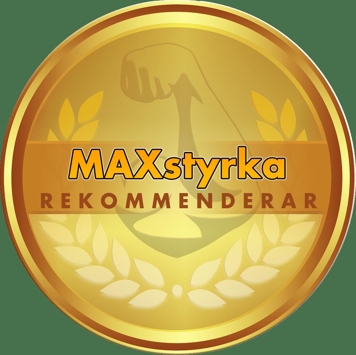 NERO-TX rekommenderas av MAXstyrka