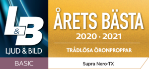 NERO-TX Årets bästa trådlösa öronproppar