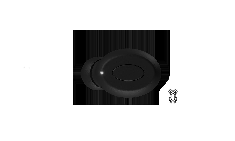 NERO-TX True Wireless med multifunktionella knappar