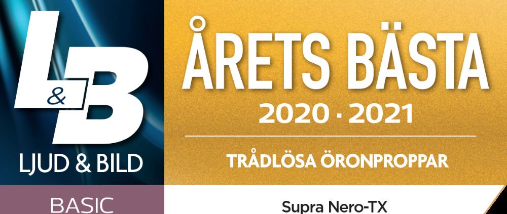 Årets bästa trådlösa öronproppar NERO-TX