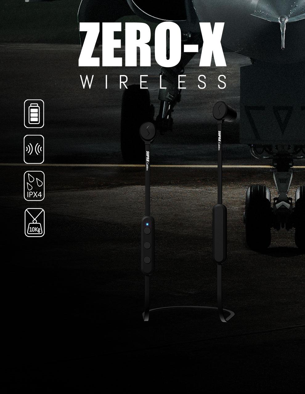 ZERO-X Trådlösa In-ear hörlurar